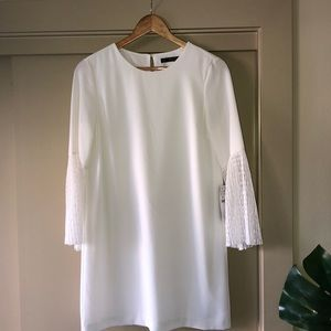 Zara Basic Collection White Dress
